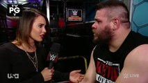 Charly Caruso, Chris Jericho and Kevin Owens Backstage Segment