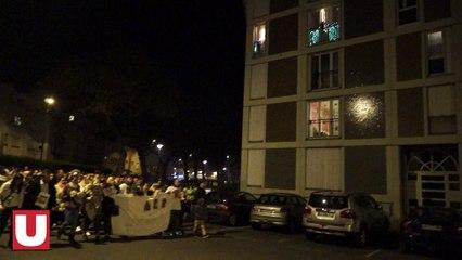 Plus de 600 personnes réunies à Reims lors d'une marche blanche en hommage au petit Tony