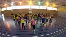 Concours flashmob UNSS championnat du monde de Handball AS MISSY La Rochelle