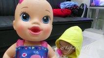 Çocuk oyuncak bebek oyuncak bebek Baby Alive @LifiatubeHD (VLOG005) oynamak