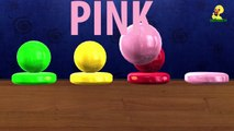 Learn Colours for Kids Toddlers Babies W/ Colorfull Balls 3D Colours Nursery Rhymes Collection