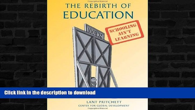liberty book  The Rebirth of Education: Schooling Ain t Learning online for ipad