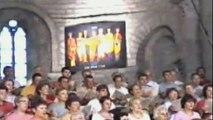 """Concert de """"ACJ Beaujolais"""" 8 aout 2001 aux Choralies de Vaison-la-Romaine"""