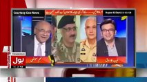 See What Najam Sethi Saying About COAS... Aamir Liaquat Plays Clip