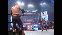 Goldberg, Shawn Michaels & Rob Van Dam vs. Batista, Randy Orton & Kane: Raw, Dec. 1, 2003