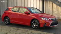 ► 2014 Lexus CT 200h F Sport overview