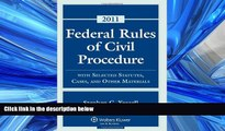 READ book Federal Rules Civil Procedure, 2011 Statutory Supplement Stephen C. Yeazell BOOOK ONLINE