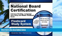 Pre Order Flashcard Study System for the National Board Certification Literacy: Reading -