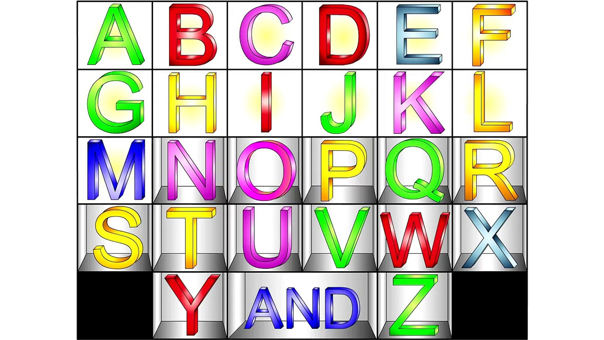 The Alphabet Song CLIP - Fun Alphabet, Teach Kids ESL, Fun English For kids, Childrens Education