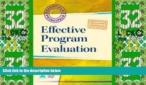Best Price Effective Program Evaluation (2nd Edition) (Essentials of Principals) Mardale Dunsworth