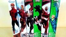 Superhero marvel toys, Titan hero series, superhero Spiderman vs Venom vs Iron man, hot kids toys