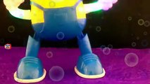 Minions Toys Funny Dancing for This Old Man Rhymes Song, Minions Videos for Babies Children