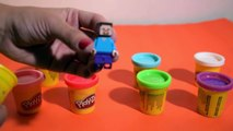 PEPPA PIG, HELLO KITTY, MINECRAFT ✩ Pots Surprises Play Doh ✩ Surprise Play Doh CANS