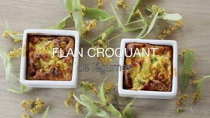 Recette Flan croquant de Légumes