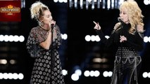 Miley Cyrus Performs 'Jolene' With Godmother Dolly Parton On The Voice | Hollywood Asia
