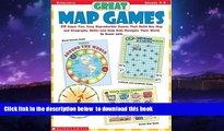 Buy NOW Susan Julio Great Map Games: 20 Super Fun, Easy Reproducible Games That Build Key Map and