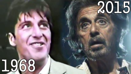 AL PACINO (1968 - 2015) all movies list from 1968 until today! How much has changed? Before and Now! The Godfather, Scarface, Scent of a Woman, The Devil's Advocate