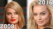 Margot Robbie (2008-2016) all movie list from 2008! How much has changed? Before and After! The Wolf of Wall Street, Suicide Squad, Focus, The Legend of Tarzan, Z for Zachariah