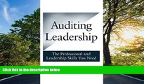 FAVORIT BOOK Auditing Leadership: The Professional and Leadership Skills You Need Brian D. Kush