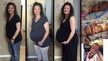 Family With Triplets Chronicles Journey Through Pregnancy
