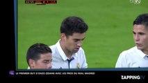 Zinedine Zidane : Premier match et premier but de son fils Enzo avec le Real Madrid (Vidéo)