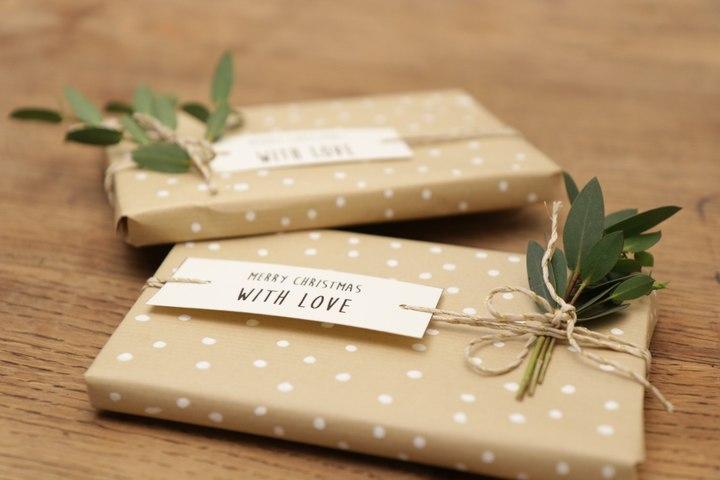 Réaliser un joli emballage cadeau