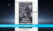 Pre Order Improving Schooling for Language-Minority Children: A Research Agenda National Research
