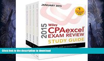 READ BOOK  Wiley CPAexcel Exam Review 2015 Study Guide January: Set (Wiley Cpa Exam Review) FULL