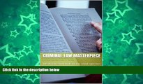 Pre Order Criminal Law Masterpiece: Jide Obi law school books for law school superstars Jide Obi