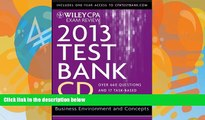 Pre Order Wiley CPA Exam Review 2013 Test Bank CD, Business Environment and Concepts O. Ray