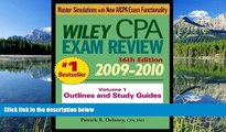 FAVORIT BOOK Wiley CPA Examination Review, Outlines and Study Guides (Volume 1) Patrick R. Delaney