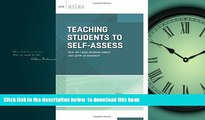 Buy NOW Starr Sackstein Teaching Students to Self-Assess: How do I help students reflect and grow