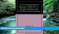Online Patrick R. Delaney Wiley Cpa Examination Review 1996-1997: Outlines and Study Guides (23rd