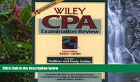 Online Patrick R. Delaney The Wiley Cpa Examination Review, 1995-1996: Outlines and Study Guides