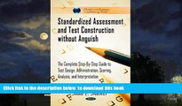 Buy NOW Saad F  Shawer Standardized Assessment and Test Construction Without Anguish  The Complete