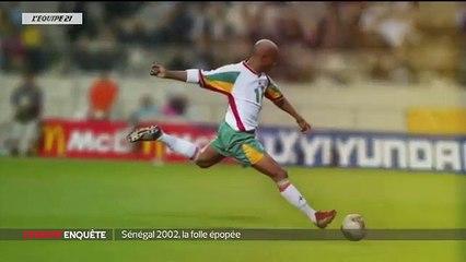Quand El hadji Diouf insultait Franck Leboeuf pendant le match Sénégal vs France