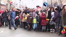 Paradă militară la Gherla, de Ziua Națională a României