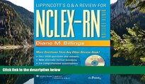 Online -Diane M Billings- Lippincott s Q A Review for NCLEX-RN [With CD-Rom] (Ninth Edition)[9/E]