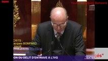 """Débat sur le délit d'entrave à l'IVG: """"Nous serons tous jugés"""" selon Jacques Bompard"""