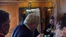 Boris Johnson denies privately supporting free movement