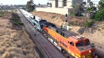 BNSF Freight Locomotives on Metrolink Commuter Trains