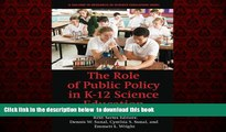 Audiobook The Role of Public Policy in K-12 Science Education (Research in Science Education