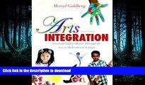 FAVORIT BOOK Arts Integration: Teaching Subject Matter through the Arts in Multicultural Settings