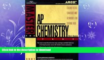 READ THE NEW BOOK Arco Master the Ap Chemistry Test 2001: Teacher-Tested Strategies and Techniques