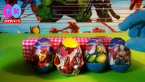 Uova sorpresa Avengers | Ovetti di Avengers in Italiano, video di uova kinder sorpresa Avengers.