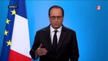 """""""J'ai décidé de ne pas être candidat à l'élection présidentielle"""" : regardez l'allocution de François Hollande en intégralité"""