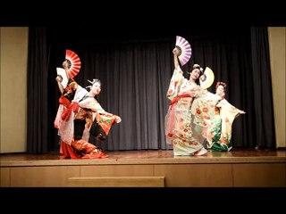Danse des éventails - Festival Samouraï -Japon - nov 2015