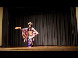 """Danse """"Sakura"""" - festival Samouraï Japon nov 2015"""