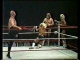 The Crusher, Baron Von Raschke, Larry Hennig vs The Fabulous Freebirds