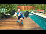 Weekend One-Up: Deadlifts, Barbell Thrusters, Lateral Bar-Hopping Burpees